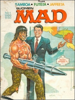 Go to MAD Magazine #20 • Finland • 2nd Edition - Semic