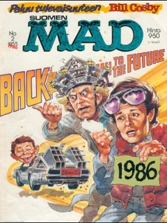 Go to MAD Magazine #21 • Finland • 2nd Edition - Semic
