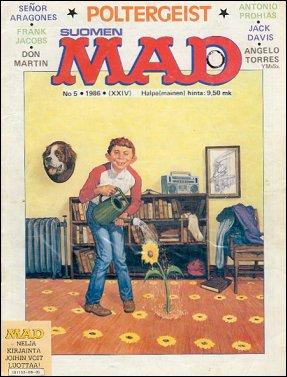 MAD Magazine #24 • Finland • 2nd Edition - Semic