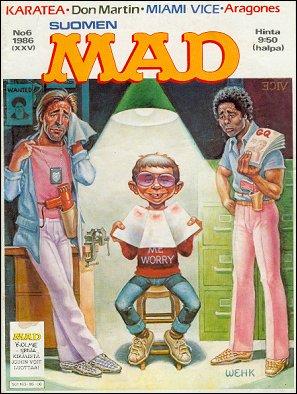 MAD Magazine #25 • Finland • 2nd Edition - Semic