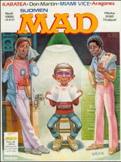Go to MAD Magazine #25 • Finland • 2nd Edition - Semic