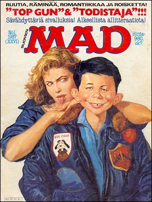 MAD Magazine #26 • Finland • 2nd Edition - Semic