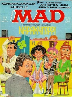 Go to MAD Magazine #28 • Finland • 2nd Edition - Semic