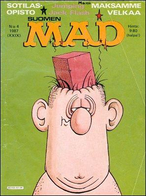 MAD Magazine #4 • Finland • 2nd Edition - Semic