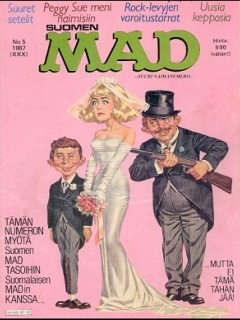 Go to MAD Magazine #30 • Finland • 2nd Edition - Semic