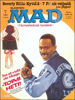 Go to MAD Magazine #33 • Finland • 2nd Edition - Semic