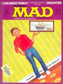 Go to MAD Magazine #34 • Finland • 2nd Edition - Semic