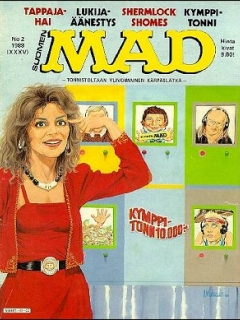 Go to MAD Magazine #35 • Finland • 2nd Edition - Semic