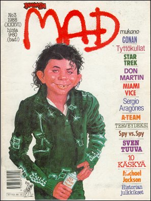 MAD Magazine #36 • Finland • 2nd Edition - Semic