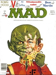 Go to MAD Magazine #37 • Finland • 2nd Edition - Semic