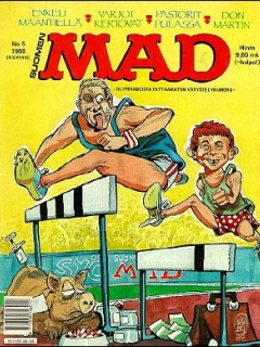 Go to MAD Magazine #38 • Finland • 2nd Edition - Semic