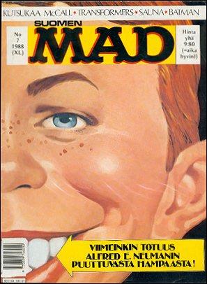 MAD Magazine #40 • Finland • 2nd Edition - Semic