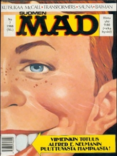 Go to MAD Magazine #40 • Finland • 2nd Edition - Semic