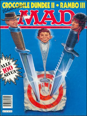 MAD Magazine #41 • Finland • 2nd Edition - Semic