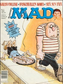 Go to MAD Magazine #43 • Finland • 2nd Edition - Semic