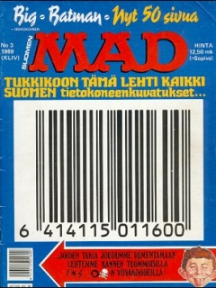 Go to MAD Magazine #44 • Finland • 2nd Edition - Semic