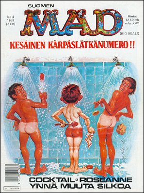 MAD Magazine #45 • Finland • 2nd Edition - Semic