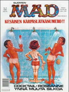 Go to MAD Magazine #45 • Finland • 2nd Edition - Semic