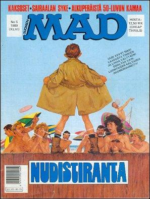 MAD Magazine #46 • Finland • 2nd Edition - Semic
