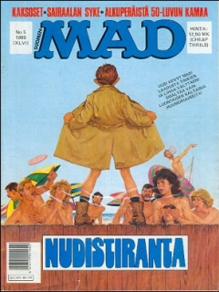 Go to MAD Magazine #46 • Finland • 2nd Edition - Semic