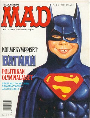 MAD Magazine #7 1988 • Finland • 2nd Edition - Semic