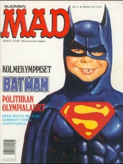 MAD Magazine #48 • Finland • 2nd Edition - Semic