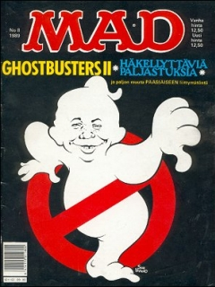 Go to MAD Magazine #49 • Finland • 2nd Edition - Semic