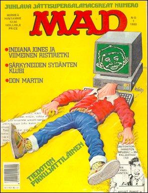MAD Magazine #1 • Finland • 2nd Edition - Semic