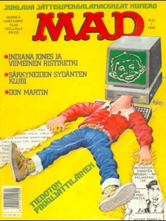 Go to MAD Magazine #50 • Finland • 2nd Edition - Semic