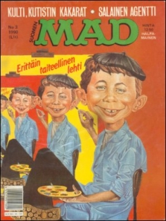 Go to MAD Magazine #52 • Finland • 2nd Edition - Semic