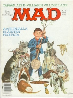 Go to MAD Magazine #53 • Finland • 2nd Edition - Semic