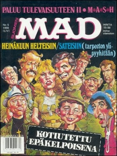 Go to MAD Magazine #54 • Finland • 2nd Edition - Semic