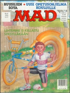 Go to MAD Magazine #55 • Finland • 2nd Edition - Semic