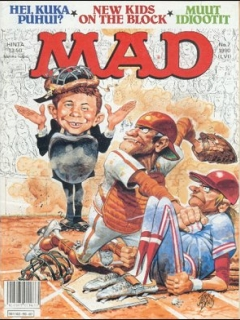 Go to MAD Magazine #56 • Finland • 2nd Edition - Semic