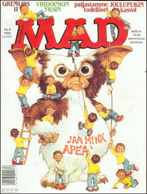 MAD Magazine #8 • Finland • 2nd Edition - Semic