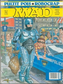 Go to MAD Magazine #59 • Finland • 2nd Edition - Semic