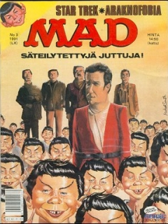 Go to MAD Magazine #60 • Finland • 2nd Edition - Semic