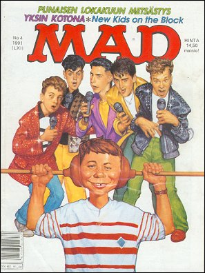 MAD Magazine #61 • Finland • 2nd Edition - Semic
