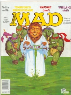 Go to MAD Magazine #64 • Finland • 2nd Edition - Semic