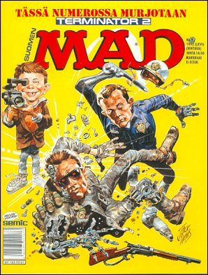 MAD Magazine #66 • Finland • 2nd Edition - Semic