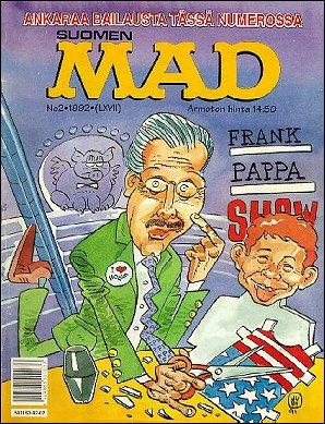 MAD Magazine #67 • Finland • 2nd Edition - Semic