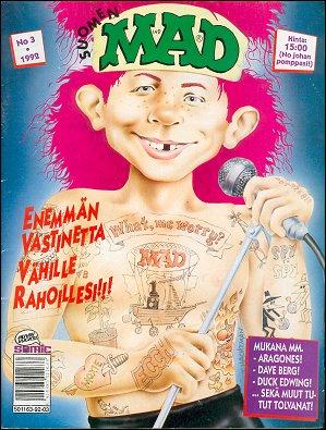 MAD Magazine #3 • Finland • 2nd Edition - Semic
