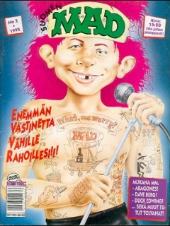Go to MAD Magazine #68 • Finland • 2nd Edition - Semic