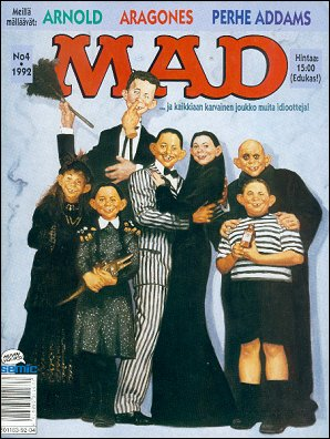 MAD Magazine #69 • Finland • 2nd Edition - Semic