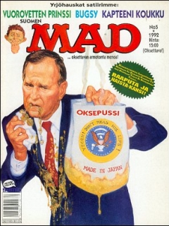 Go to MAD Magazine #70 • Finland • 2nd Edition - Semic