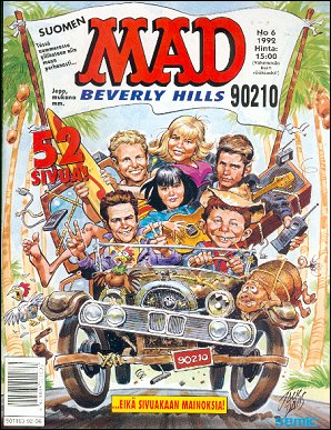 MAD Magazine #6 • Finland • 2nd Edition - Semic