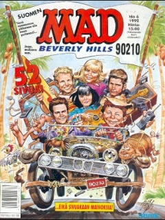 Go to MAD Magazine #71 • Finland • 2nd Edition - Semic