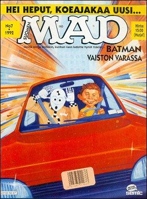 MAD Magazine #72 • Finland • 2nd Edition - Semic