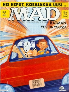 Go to MAD Magazine #72 • Finland • 2nd Edition - Semic