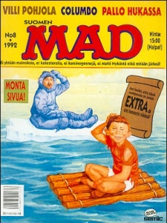 Go to MAD Magazine #73 • Finland • 2nd Edition - Semic